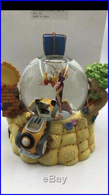 RARE RETIRED Walt Disney Jessica Who Framed Roger Rabbit Musical Snow Globe