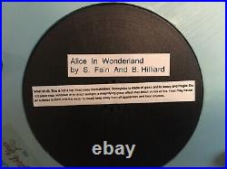 Rare Alice in Wonderland 50th Anniversary Musical Snowglobe Alice's Trial