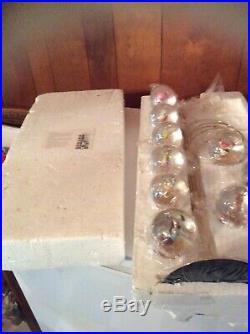 Rare Complete Never Displayed Disney Mini Snow Globe Tree Tabletop Christmas
