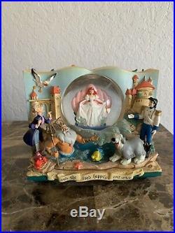 Rare Disney Ariel Doubble Sidded Snowglobe