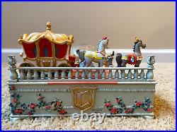 Rare Disney Store Exclusive 60th Anniversary Cinderella Wedding Music Snowglobe