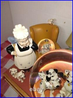 Rare Disney Store Light Up Snow Globe 101 Dalmatians