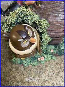 Rare Disney The Fox And The Hound Snow Globe