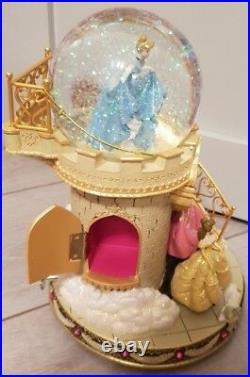 SNOW GLOBE Musical 100 PRINCESS STAIRS / Princesses Escaliers Disneyland Paris