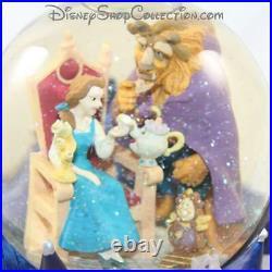 Snow globe musical DISNEY La belle et la bête boule à neige 18 cm (DOU)