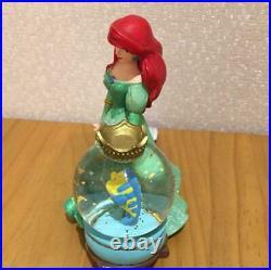 The Little Mermaid Disney Store Ariel Snow globe Snow dome Japan F/S