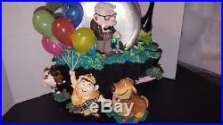 UP Pixar Disney Store Exclusive VHTF RARE Snowglobe NEW with Working Blower
