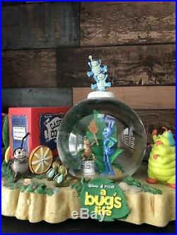 Very Rare Disney A Bugs Life Snowglobe Circus