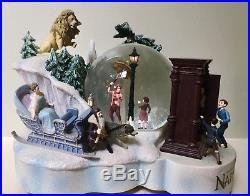 Very Rare Disney Chronicles Of Narnia Snow Globe