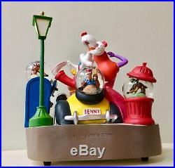 Very Rare Disney Roger Rabbit Limited Edition 350 Snow Globe