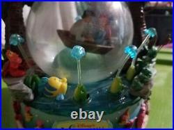 Vintage Disney The Little Mermaid Kiss The Girl Musical Snow Globe