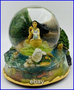 Walt Disney Pocahontas The Riverbend Snow Globe movie film native American